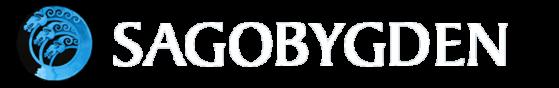Sagobygden logo vit